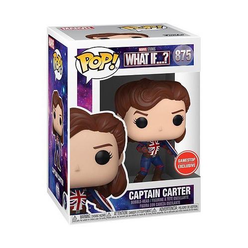 Funko POP! Marvel: What If...? Captain Carter GameStop Exclusive