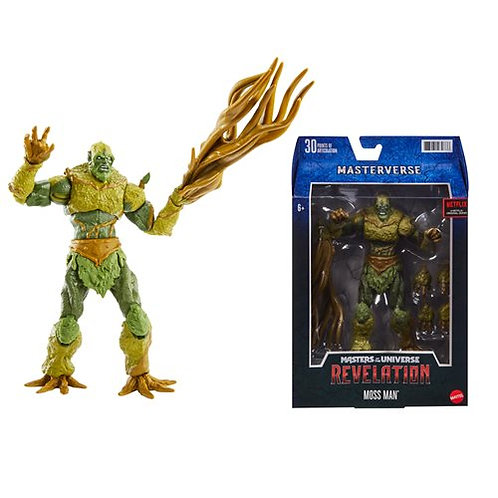 Masters of the Universe Masterverse Revelation Moss Man Preorder