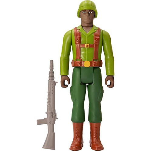 G.I. Joe Greenshirt (Brown) 3 3/4-Inch ReAction Figure Preorder