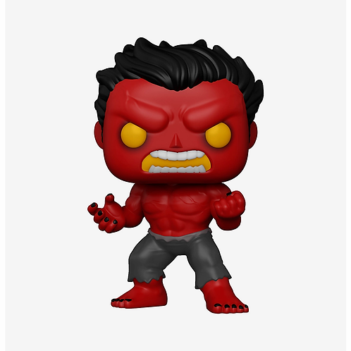 Funko Marvel Pop! Red Hulk Hot Topic Exclusive