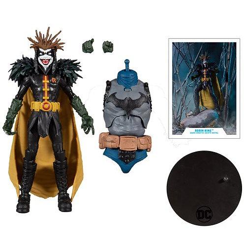DC Build-A Wave 4 Dark Nights Death Metal Robin King Action Figure Preorder