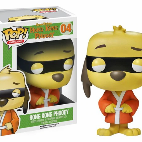 Hanna-Barbera Hong Kong Phooey #04 Pop! Vinyl Figure