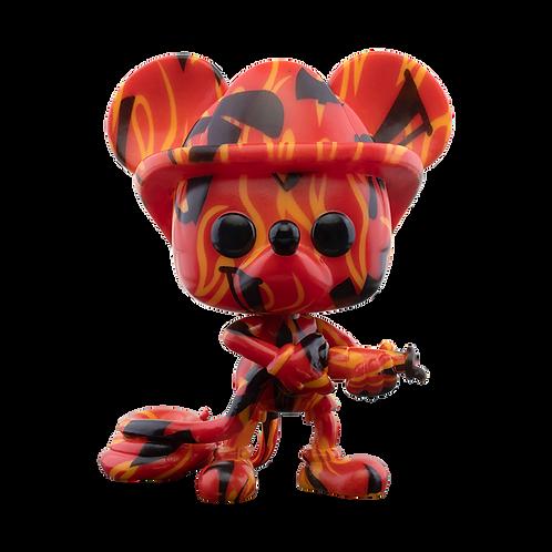 Funko POP! Artist Series: Disney - Firefighter Mickey Walmart Exclusive