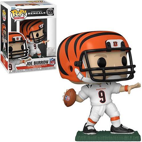 NFL Bengals Joe Burrow (Home Uniform) Pop! Vinyl Figure Preorder