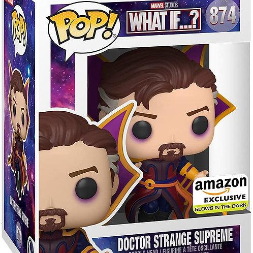 Funko Pop! Marvel What If? Doctor Strange Supreme, GITD Amazon Ex