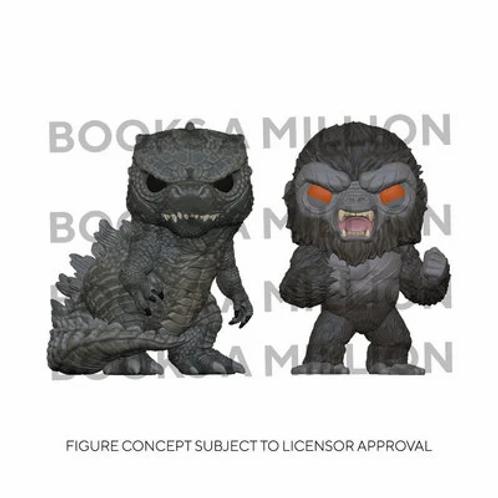 Funko Pop! 2-pack - Godzilla vs. Kong BAM! Exclusive