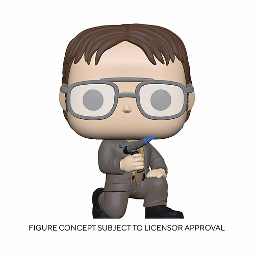 Funko POP! TV: The Office - Dwight with Blow Torch Target Exclusive Preorder