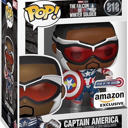 Funko Pop!Marvel Falcon and Winter Soldier Captain America Amazon Ex Preorder