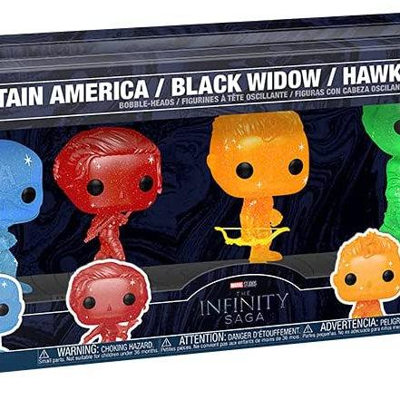 Funko POP! Artist Series: Marvel Infinity Saga (6 Pack) Amazon Excl Preorder