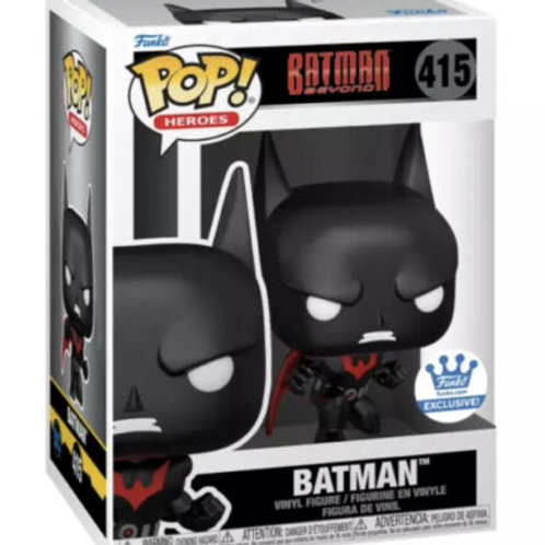 Funko Pop! Batman Crouching Batman Beyond Funko Shop Exclusive