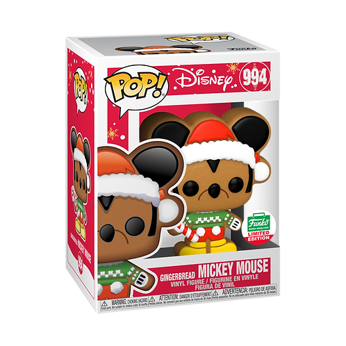 Funko Pop! GINGERBREAD MICKEY MOUSE