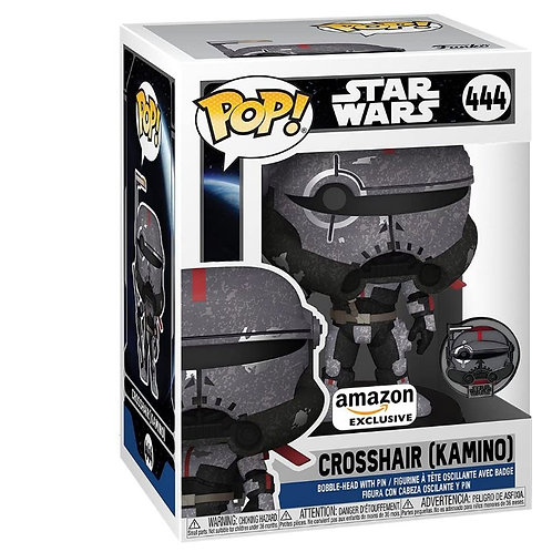Funko Pop and Pin! Star Wars: Bad Batch - Crosshair Kamino Amazon Excl Preorder