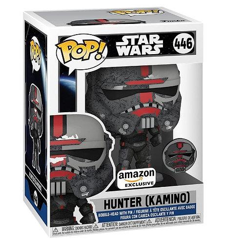 Funko Pop and Pin! Star Wars: Bad Batch - Hunter Kamino Amazon Excl