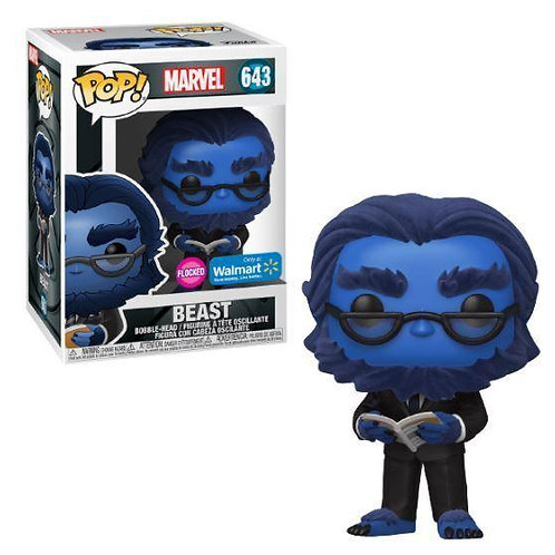 Funko Pop! Marvel X-Men 20th Anniversary- Beast X-Men The Last Stand Flocked