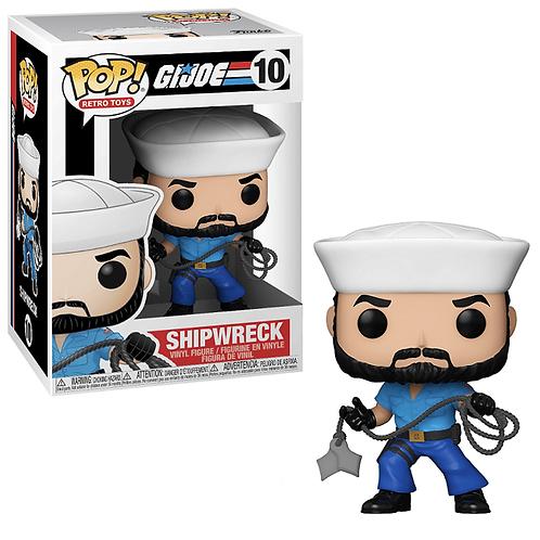 Funko Pop! Hasbro Retro Toys: G.I. Joe - Shipwreck #10