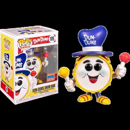 Funko Pop! Dum-Dums - Dum-Dums Drum Man #105
