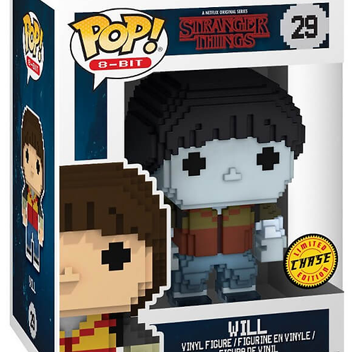 Funko POP! 8-Bit Stranger Things #29 Will - Limited Edition Chase