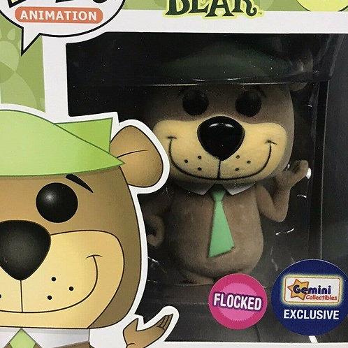 Funko Pop! Animation Yogi Bear Flocked # 187