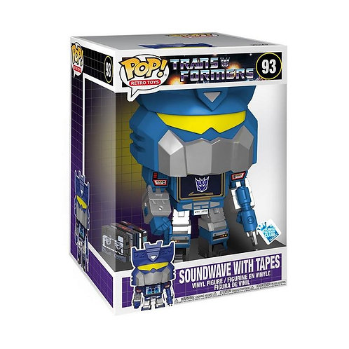POP! Jumbo: Transformers Soundwave with Tapes 10-inch GameStop Excl Preorder