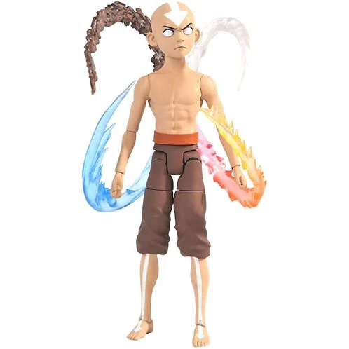 Avatar: The Last Airbender Final Battle Aang Deluxe Action Figure Preorder