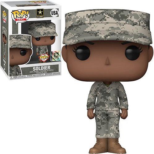 Military Army Female (African American) Pop! Vinyl Figure Preorder