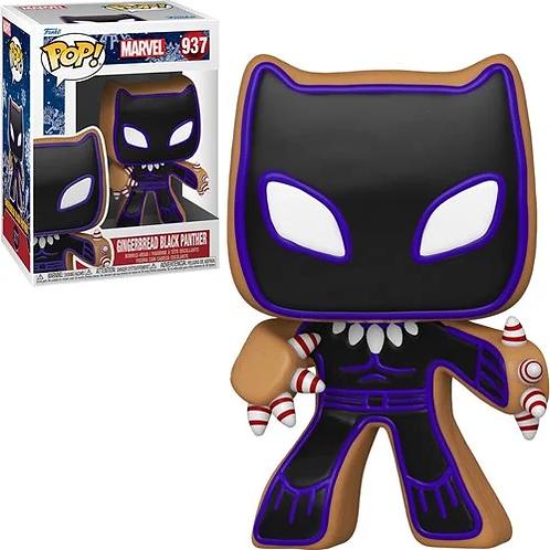 Marvel Holiday Gingerbread Black Panther Pop! Vinyl Figure Preorder