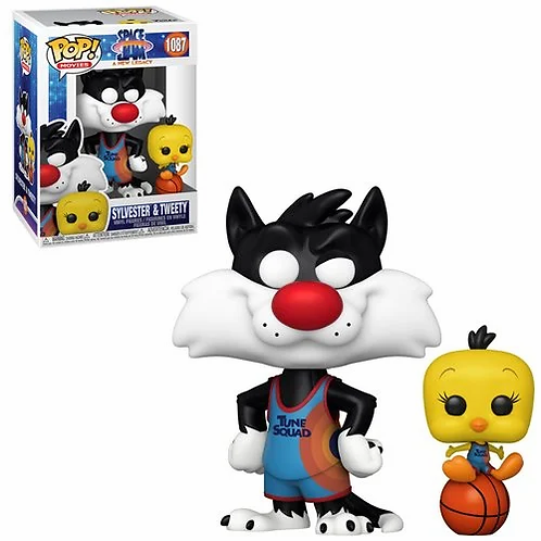 Space Jam: A New Legacy Sylvester and Tweety Pop!Vinyl Figure and Buddy Preorder