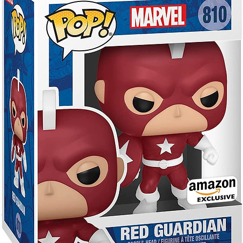 Funko Pop! Marvel: Year of The Shield - Red Guardian, Amazon Exclusive
