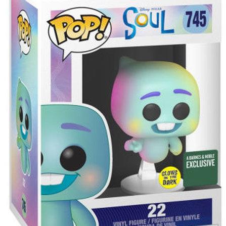 FUNKO POP! Disney Pixar - Soul 22 - Glows in the Dark B&N Exclusive