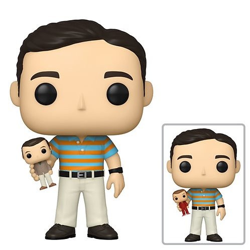 40-Year-Old Virgin Andy Holding Oscar Pop! Vinyl Figure 1/6 possible Chase