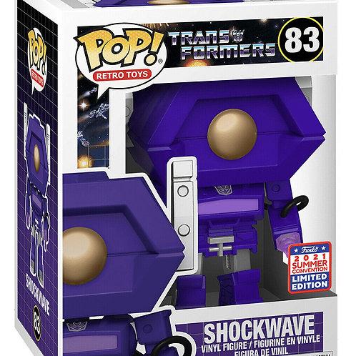 FUNKON 2021 Funko Pop! Retro Toys: Transformers SHOCKWAVE Shared Exclusive