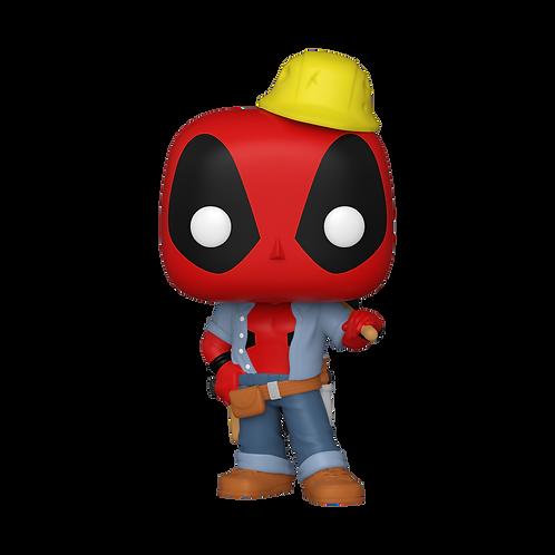 Funko POP! Marvel: Deadpool 30th Construction Worker Walmart Exclusive