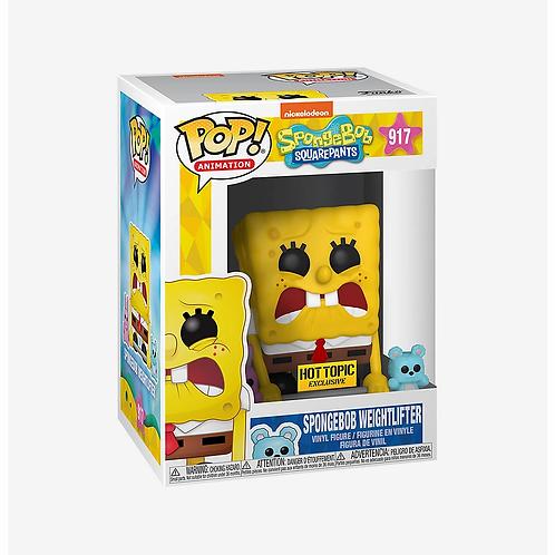 Funko SpongeBob Pop! Animation SpongeBob Weightlifter Hot Topic Excl