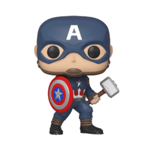 Funko POP!  Avengers Endgame Captain America #481 Marvel Collector Corps