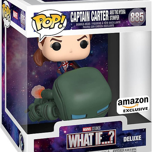 Funko Pop! Deluxe Marvel: What If? Captain Carter Riding Hydrostomper YOFS