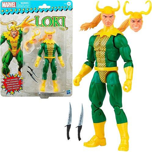 Marvel Legends Retro Loki 6-Inch Action Figure Preorder