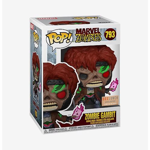 Funko Pop! Marvel Zombies Gambit GITD BoxLunch Exclusive