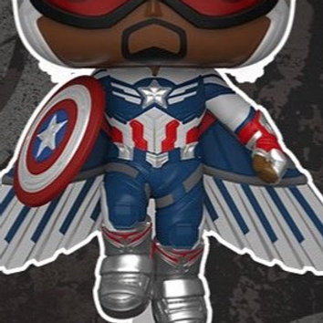FunkoPop!  The Falcon and The Winter Solder Captain America Walmart Exc Preorder