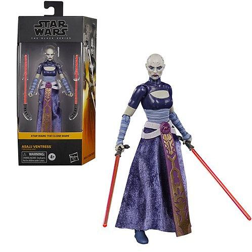 Star Wars The Black Series Asajj Ventress 6-Inch Action Figure Preorder