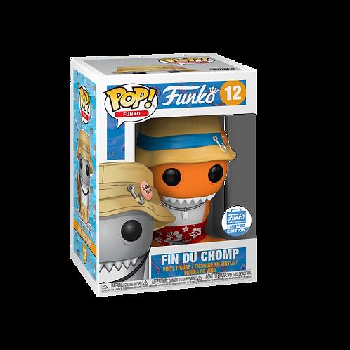 Funko Pop! SPASTIK PLASTIK Fin Du Chomp #12 Orange Funko Shop Exclusive