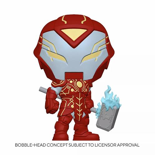 Funko POP! Marvel: Infinity Warps - Iron Hammer GITD Target Exclusive Preorder