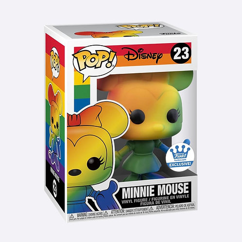 FUNKO POP! MINNIE MOUSE (RAINBOW) Funko Shop Exclusive