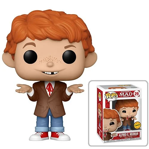 MAD TV Alfred E. Neuman Pop! Common + Chase Bundle