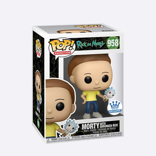POP! MORTY WITH SHRUNKEN RICK - RICK AND MORTY
