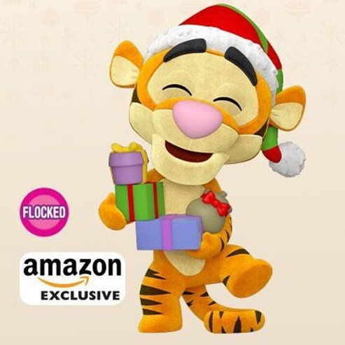 Funko Pop! Disney: Holiday 2021 - Tigger (Flocked), Amazon Exclusive Preorder