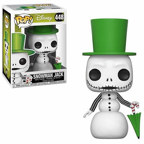Funko Pop! Nightmare Before Christmas Snowman Jack #448