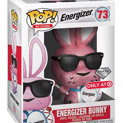 Funko POP! Ad Icons: Energizer Bunny Diamond Collection Target Exclusive