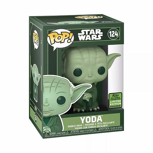 Funko POP! Star Wars: Yoda ECCC 2021 Shared Exclusive