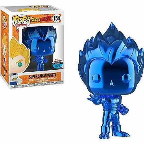 Super Saiyan Vegeta (Blue Chrome)#154 Heavy Box Damage
