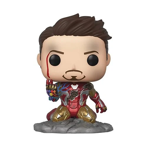 Avengers: Endgame I Am Iron Man Glow-in-the-Dark Deluxe Pop! PX Preview